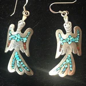 Jewelry - Native American Peyote Bird Earrings